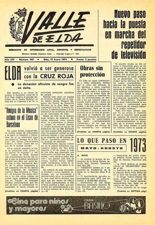 Número 0907<span>12 de enero de 1974</span>